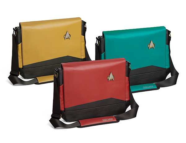 Star Trek TNG Uniform Messenger Bags