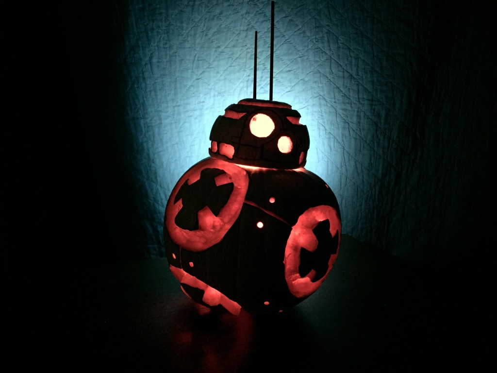 Star Wars BB8 Jack-O-Lantern