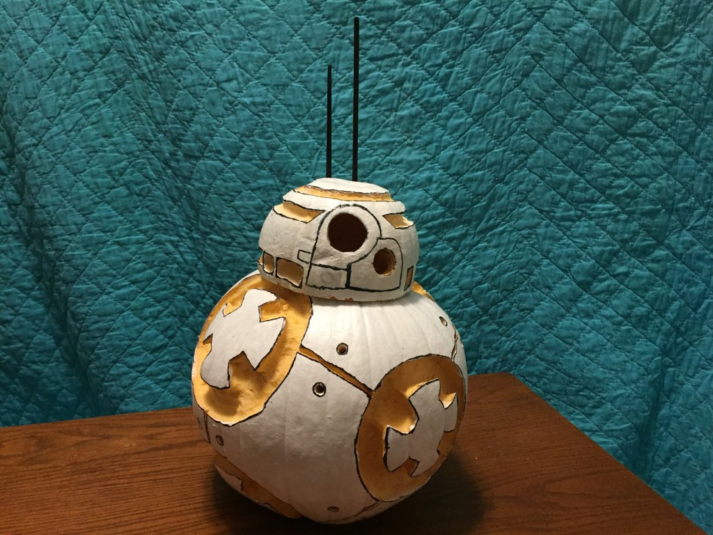 Star Wars BB8 Pumpkin Carving