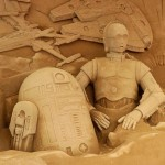 This Star Wars Sand Sculpture Will Blow Your Mind!