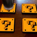 Super Mario Question Block Coasters