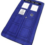Stay Warm This Winter With A Doctor Who TARDIS Throw Blanket