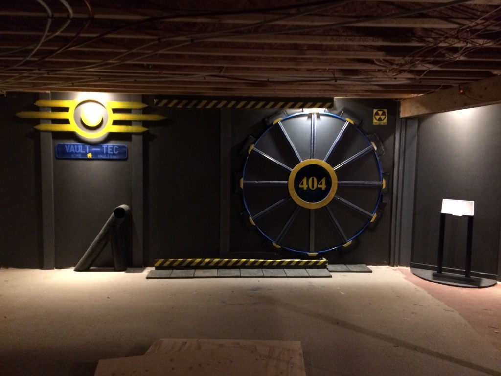 Fallout Vault-Tec Gaming Room Vault Door