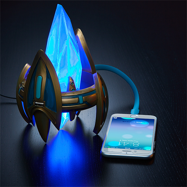 Starcraft Protoss Pylon Desk USB Charger