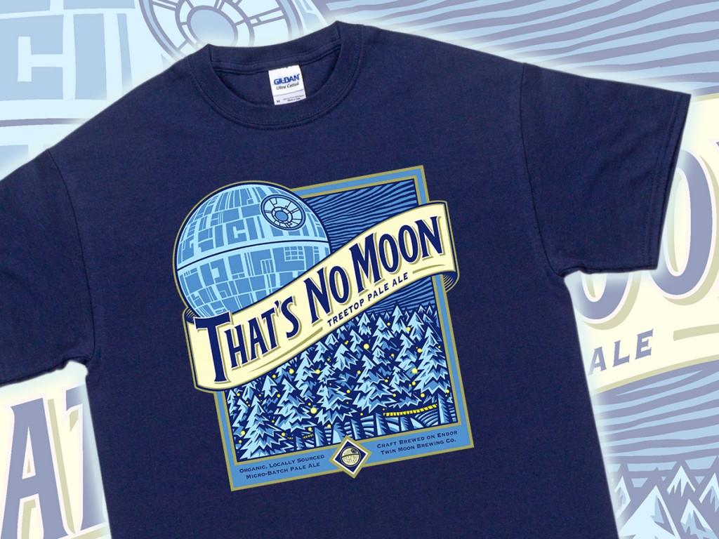 Star Wars That's No Moon T-Shirt
