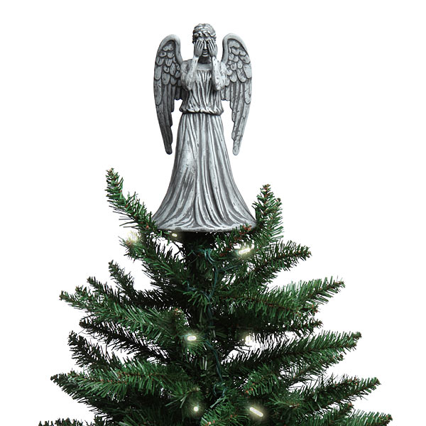 Weeping Angel Christmas Tree Topper
