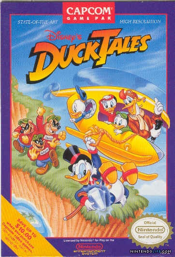 DuckTales for the NES