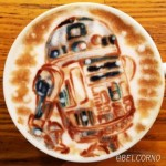 Mind Blowing Star Wars Latte Art