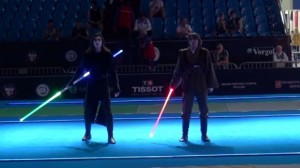 Star Wars Lightsaber Duel