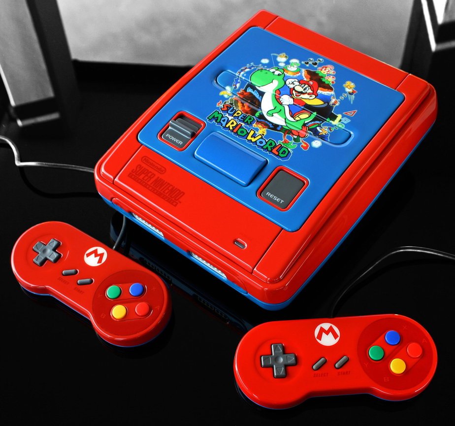 Custom Super Mario World Super Famicom