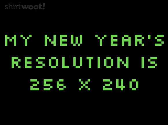 New Year's Geeky Resolutions