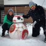 BB-8 Snowdroid is the droid you're looking for