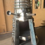 This Dalek Wood Burner Will Keep You Warm, Might EXTERMINATE You Too.