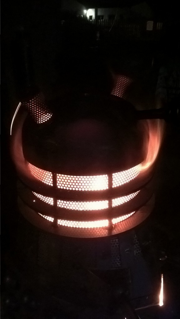 Dalek Wood Stove