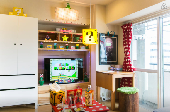 Super Mario Apartment