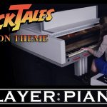 NES Classic DuckTales Moon Theme Played on NES Piano
