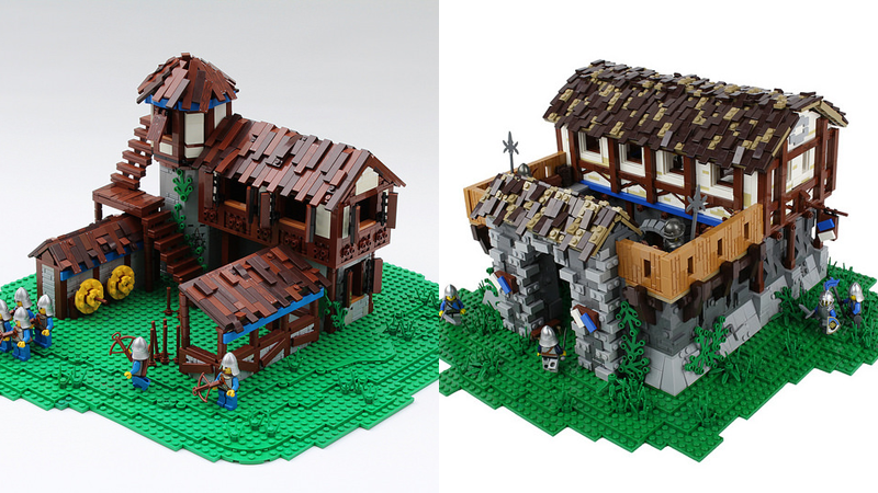 LEGO Age of Empires II Archery Range and Barracks