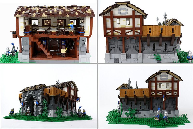 LEGO Age of Empires II Barracks