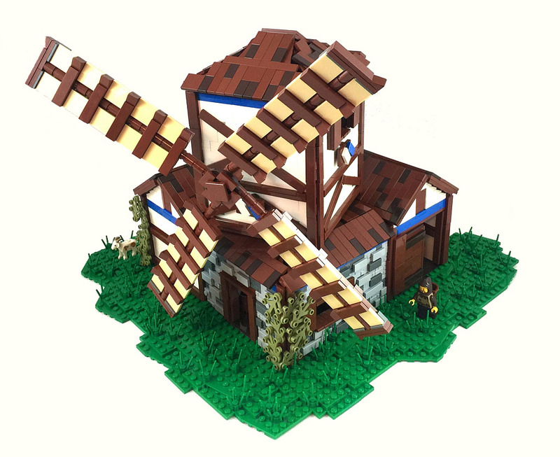LEGO Age of Empires II Mill