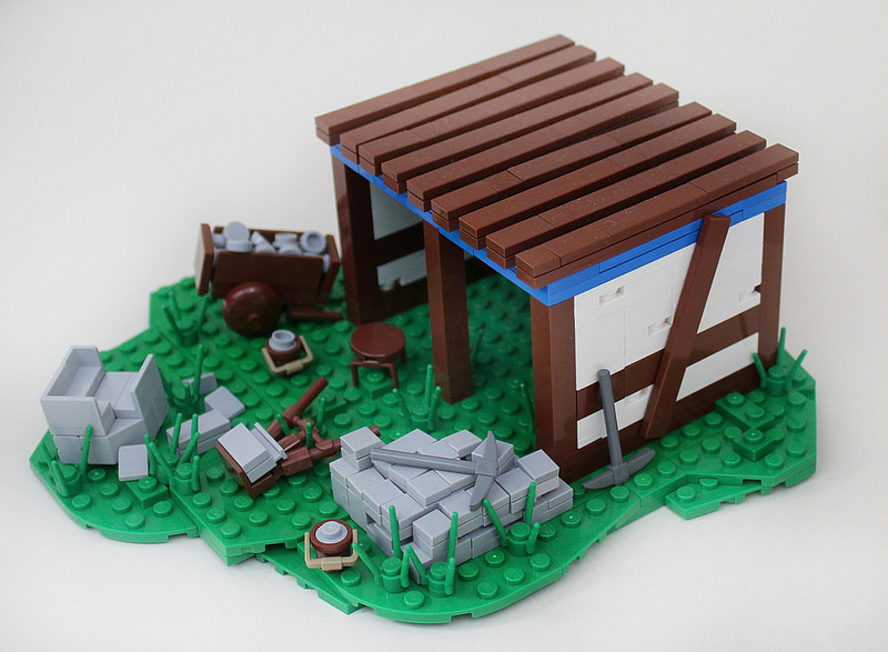 LEGO Age of Empires II Mining Camp