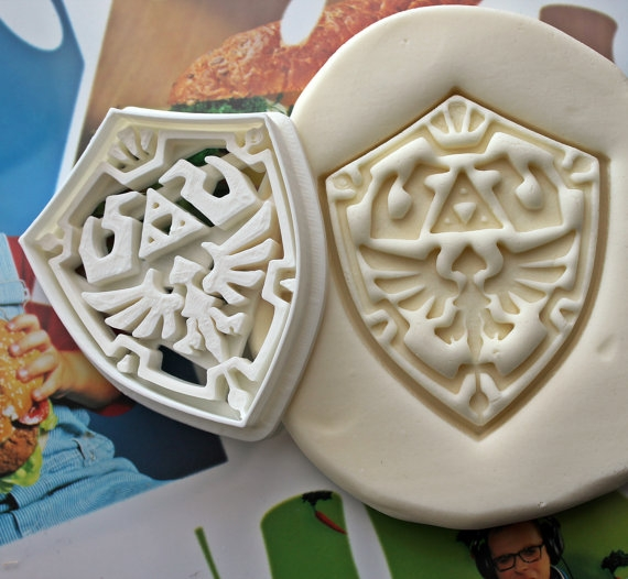 Hylian Shield Cookie Cutter