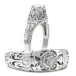 Legend of Zelda Majora's Mask Wedding Rings