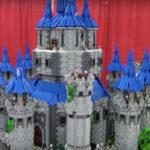 Epic LEGO Hyrule Castle from Legend of Zelda: Twilight Princess