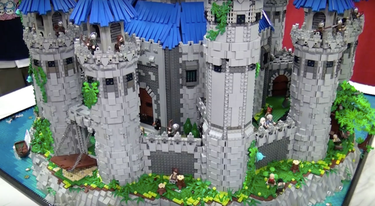 LEGO Legend of Zelda Twilight Princess Hyrule Castle
