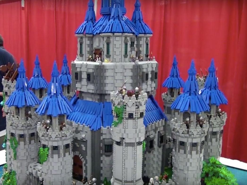 LEGO Hyrule Castle