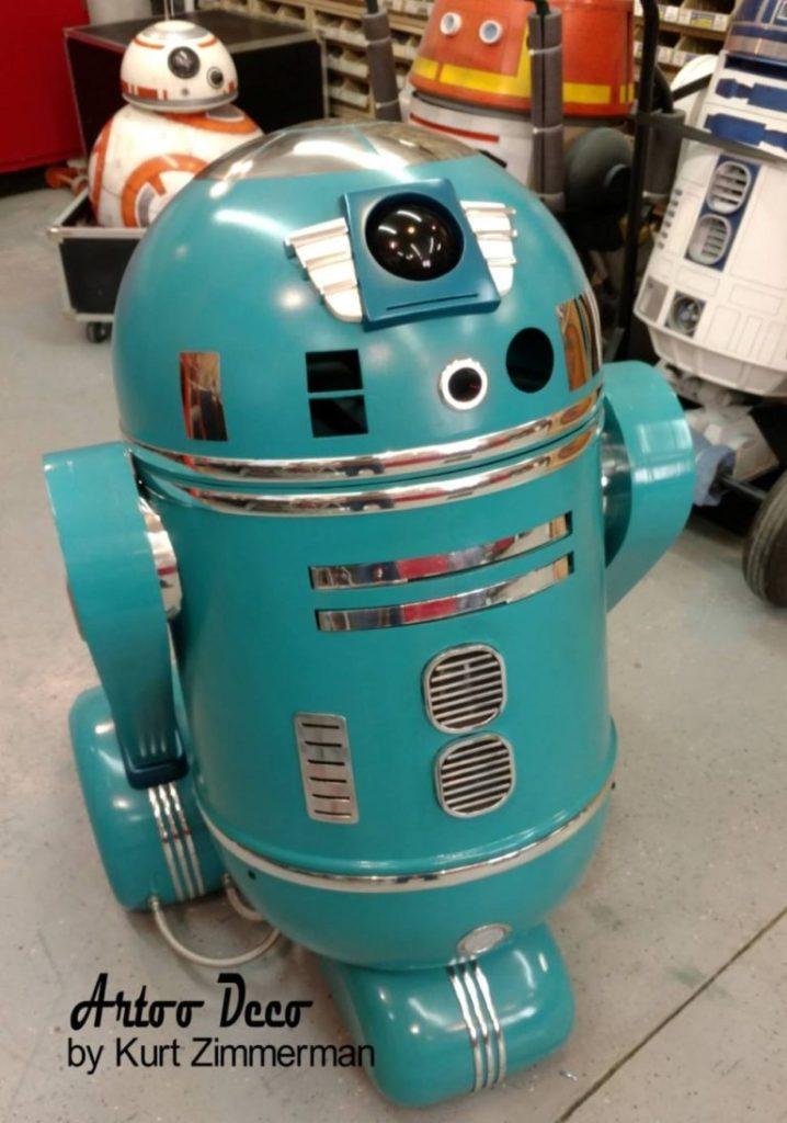 Art Deco R2-D2
