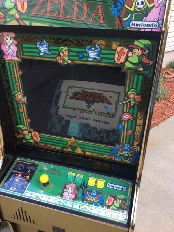 Legend of Zelda Arcade Cabinet