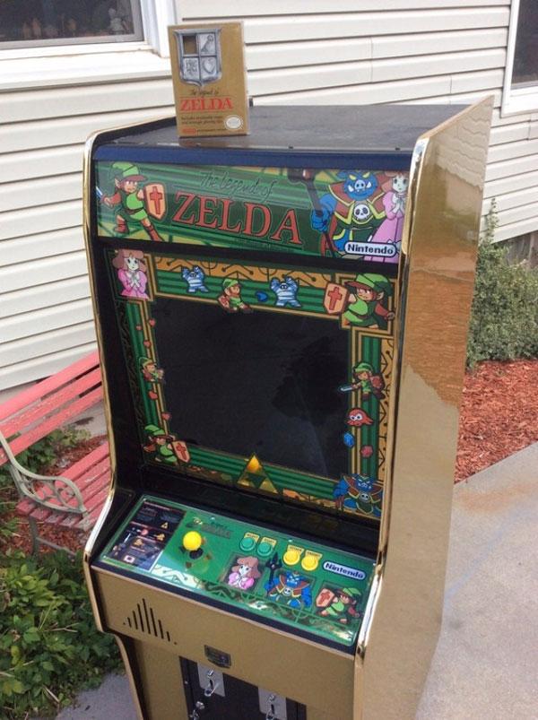 Legend of Zelda Arcade Cabinet