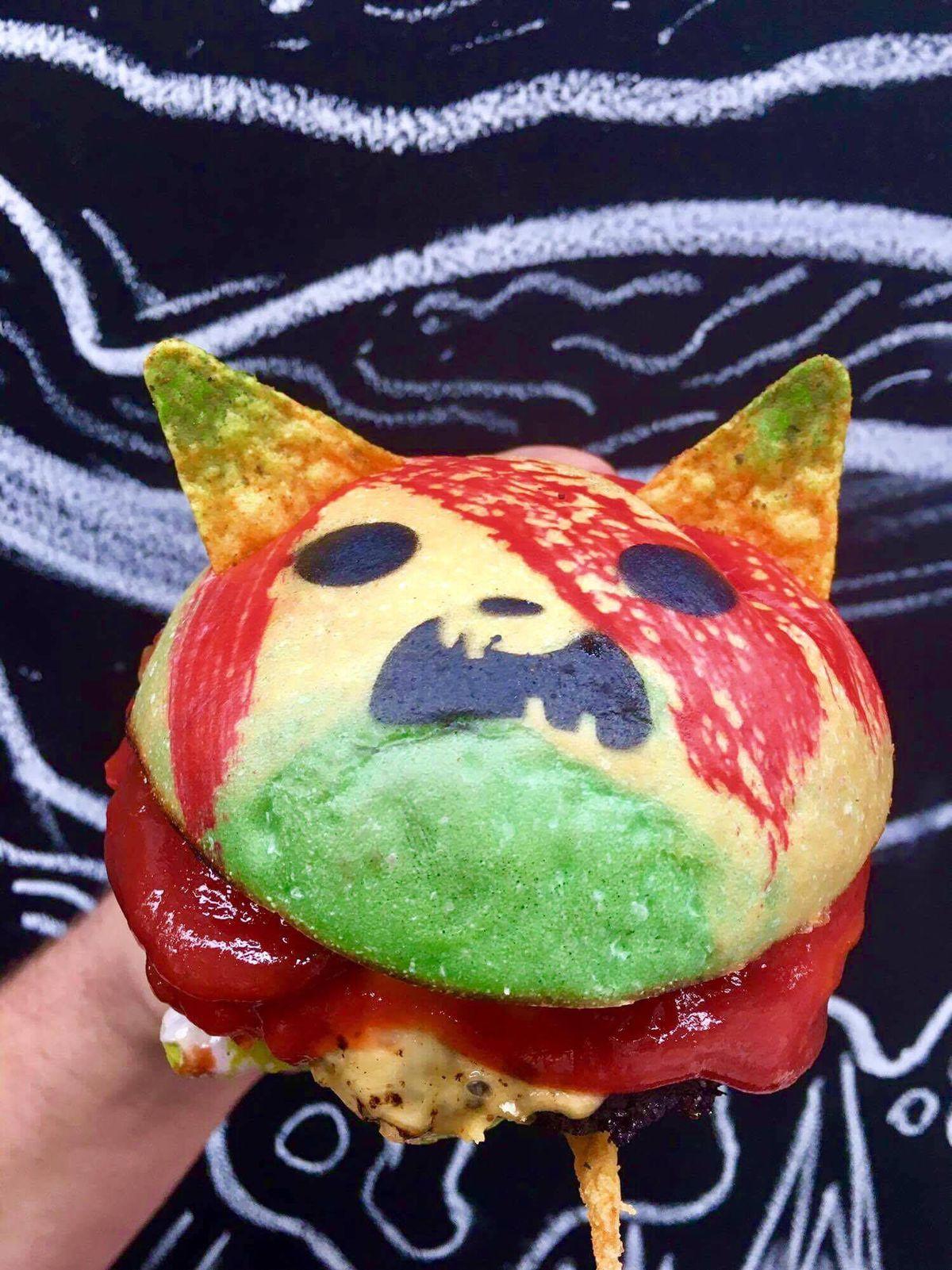 Zombie Pikachu Burgers