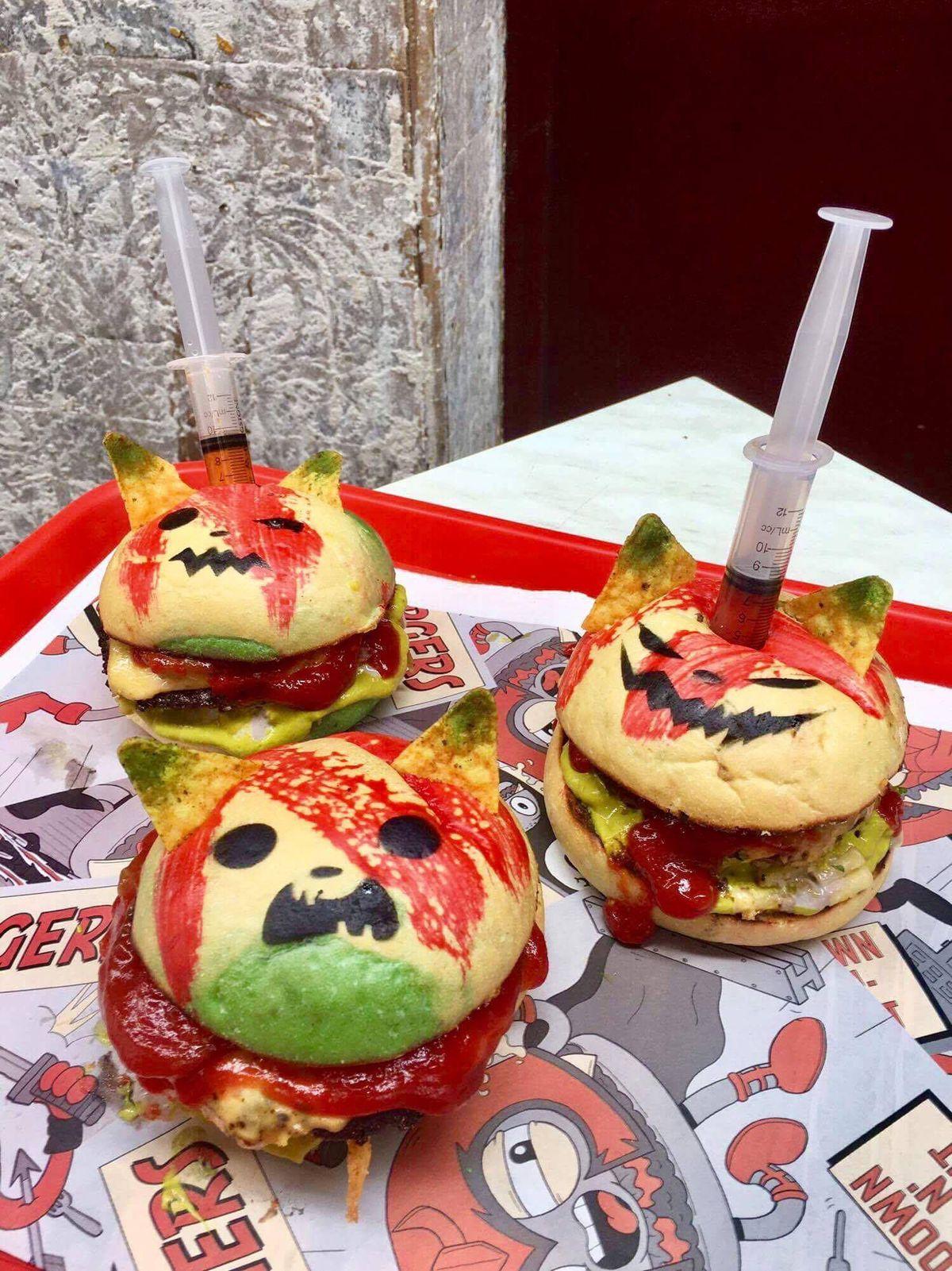 Zombie Pokemon Burgers
