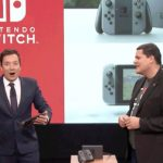 Super Mario Run and Zelda Breath of the Wild on the Nintendo Switch shown on the Tonight Show