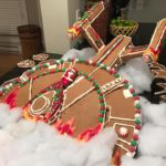 Crashing Star Trek Enterprise Gingerbread Ship