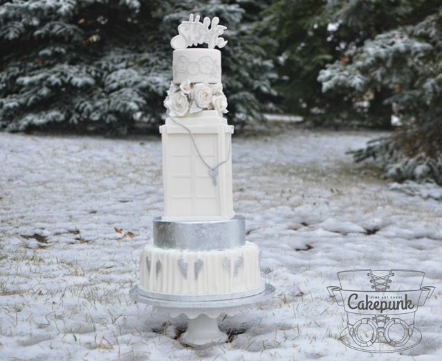 Doctor Who Husbands of River Song Wedding Cake
