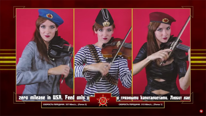 Red Alert 3 Soviet Theme Violin Cover
