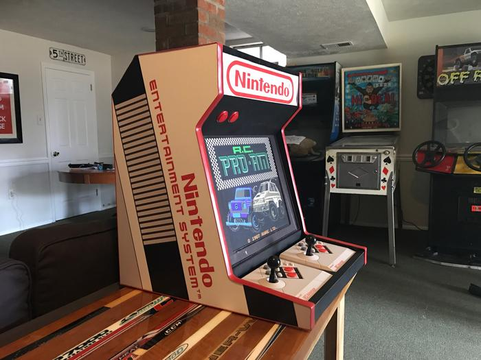 NES Bartop Arcade