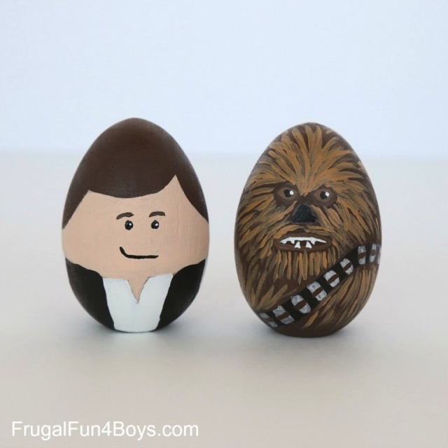 Han Solo Easter Egg and Chewbacca Easter egg