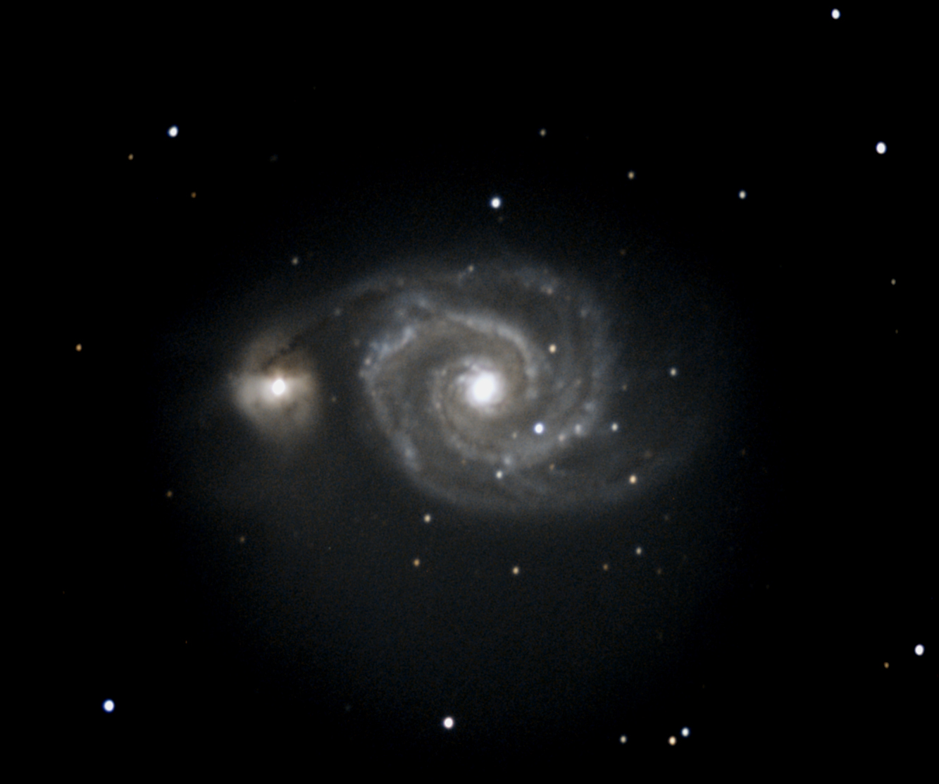 M51- Whirlpool Galaxy
