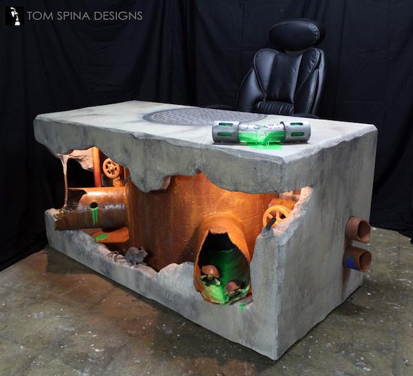 TMNT Sewer Desk