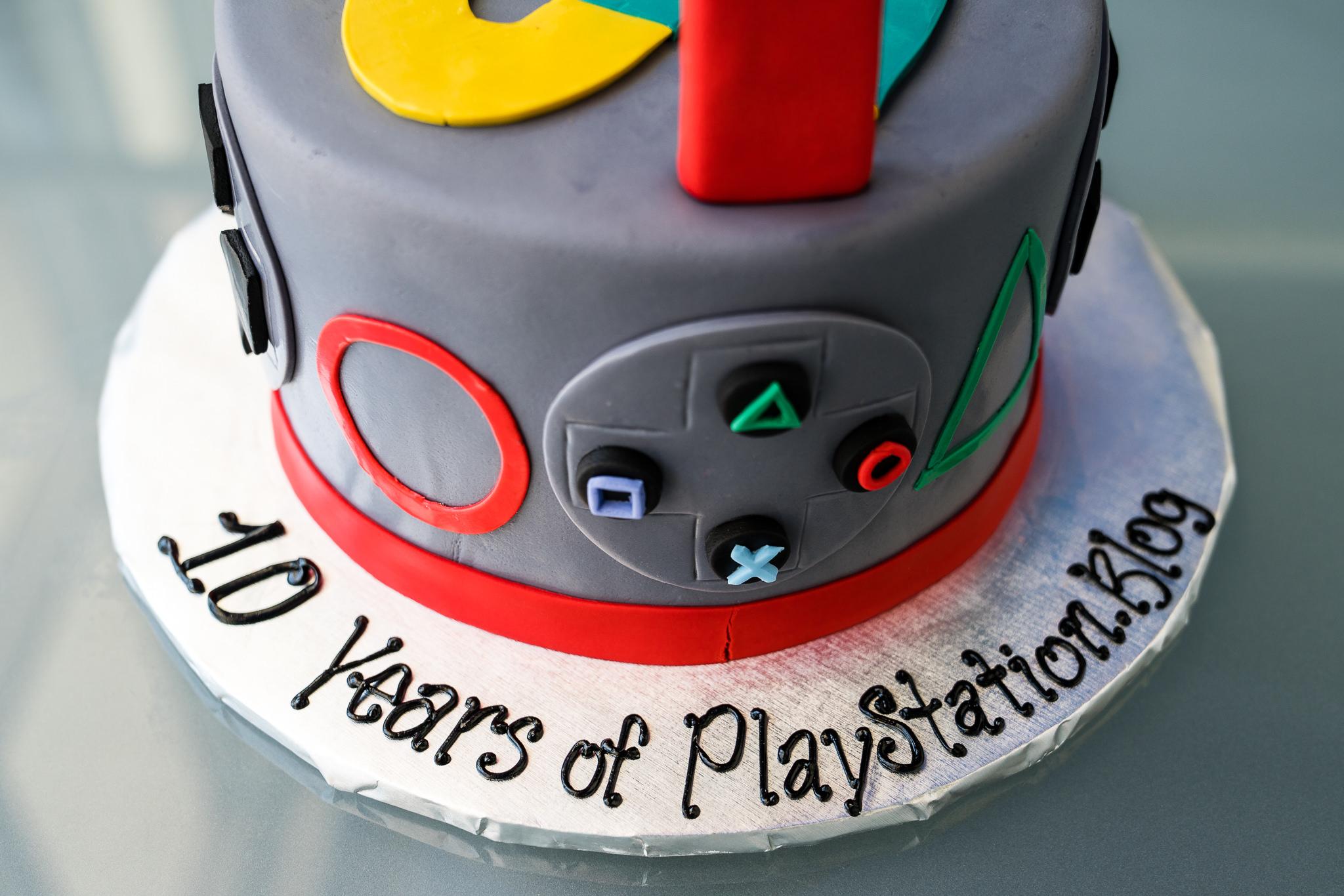 Sony PlayStation Cake