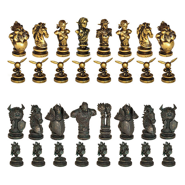 Legend of Zelda Collectors Chess Set Pieces