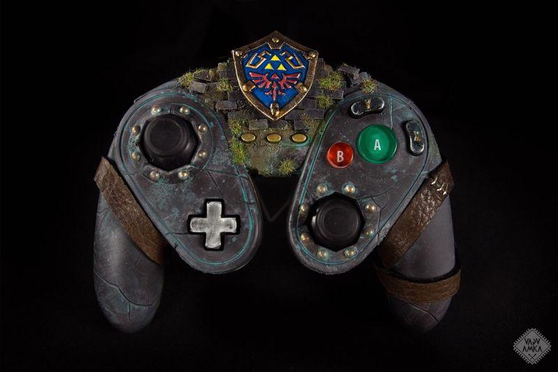 Legend of Zelda Controller Mod Wii U