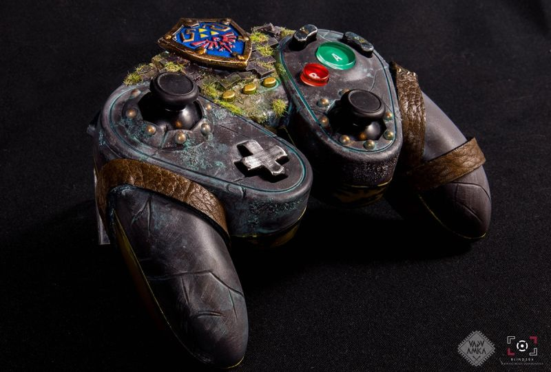 Legend of Zelda Controller Mod