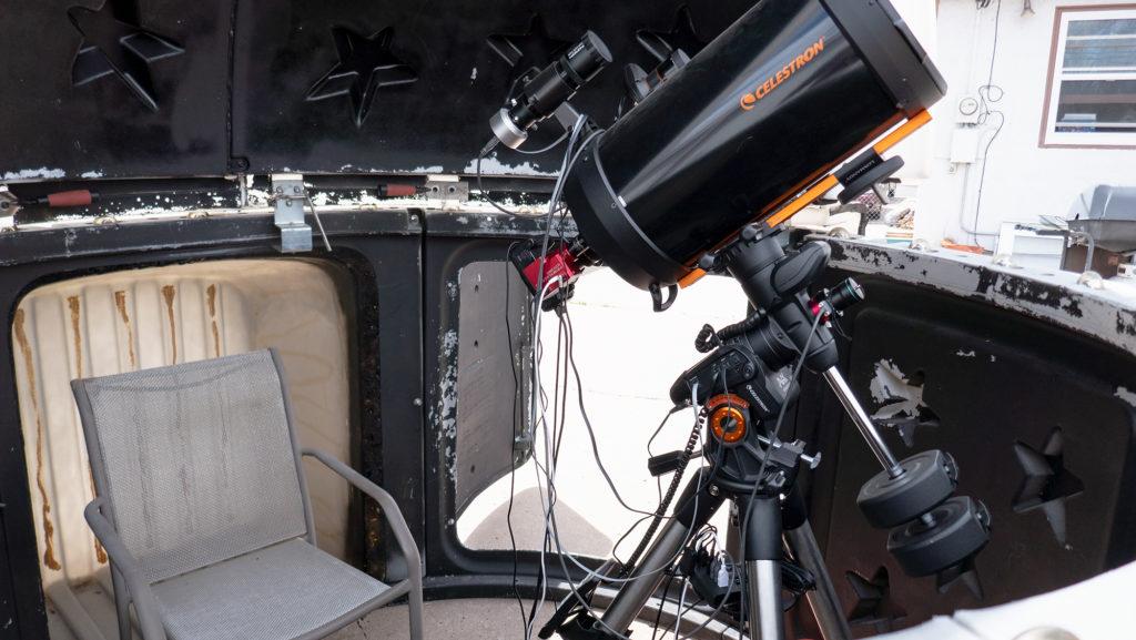 My telescope setup