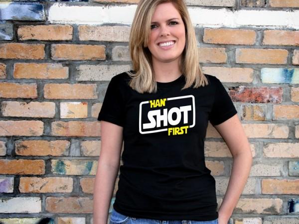 Star Wars Han Shot First T-Shirt