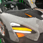 LEGO Brick McLaren Senna Made From Over 400,000 Bricks