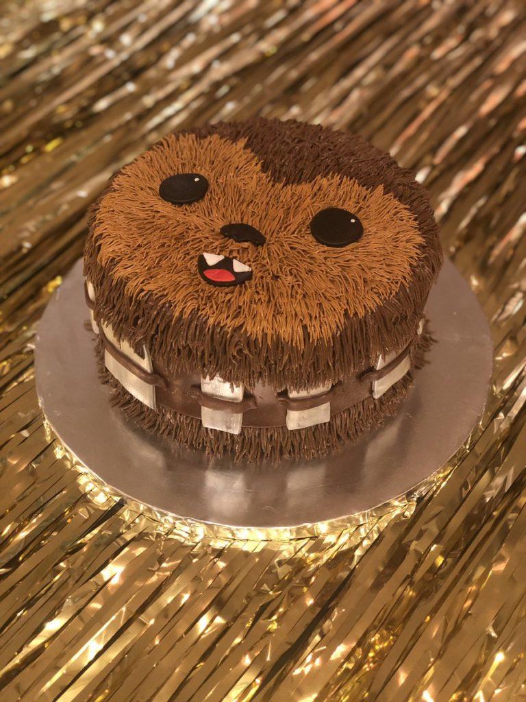 Star Wars Chewbacca Cake